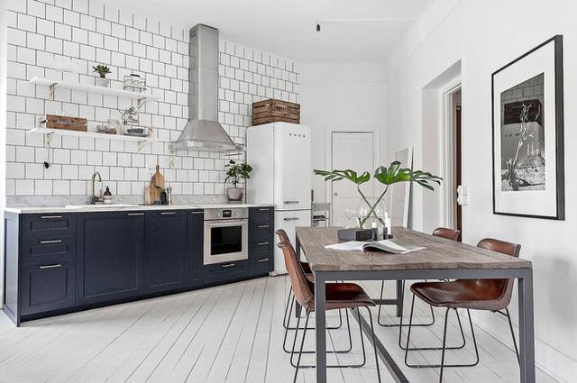 Học cách bài trí nhà đẹp lại rộng thênh thang như căn hộ màu trắng rộng 62m² dưới đây - Ảnh 4.