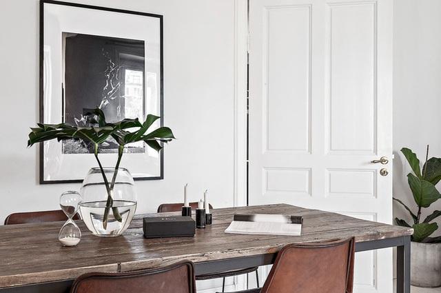 Học cách bài trí nhà đẹp lại rộng thênh thang như căn hộ màu trắng rộng 62m² dưới đây - Ảnh 8.