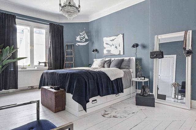 Học cách bài trí nhà đẹp lại rộng thênh thang như căn hộ màu trắng rộng 62m² dưới đây - Ảnh 9.