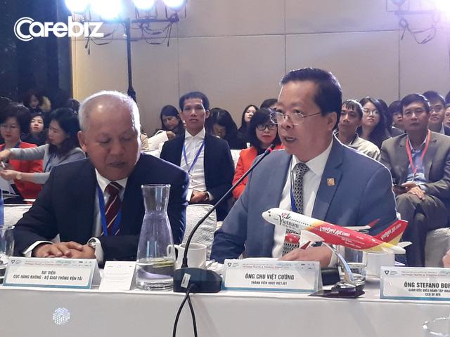 Sếp Vietjet tuyên bố sống như vợ chồng với ngành du lịch VN, viện dẫn case sân bay Koh Samui do Bangkok Airways xây dựng để đề xuất công tư vẹn toàn, cho tư nhân tham gia xây dựng hạ tầng hàng không - Ảnh 1.