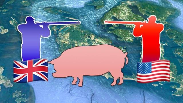 Câu chuyện về War Pig và Pig War và : từ những con lợn quật ngã cả voi, đến nguy cơ gây đại chiến giữa 2 cường quốc - Ảnh 9.