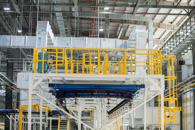 Giải pháp bảo toàn năng lượng bên trong dây chuyền tiên tiến của VinFast - Ảnh 1.