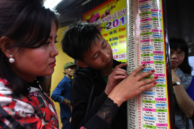Hàng nghìn người chen chân dâng sớ cúng giải hạn sao La Hầu tại chùa Phúc Khánh - Ảnh 2.