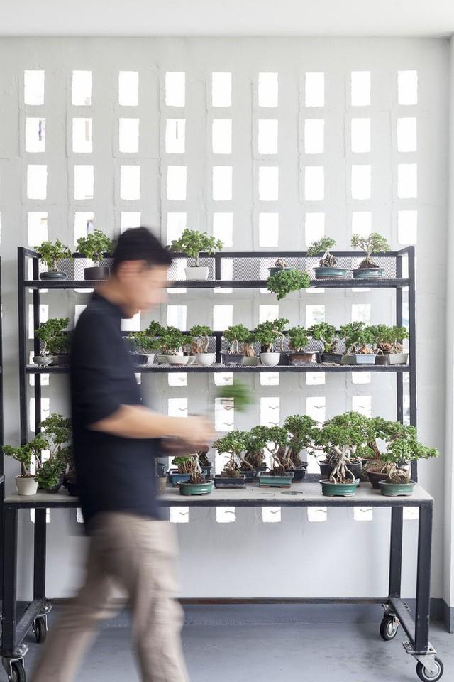 Sau 15 năm bỏ hoang, ngôi nhà 300m² được cặp vợ chồng trẻ hồi sinh cực hiện đại lại có vườn bonsai đáng mơ ước ở ban công - Ảnh 13.