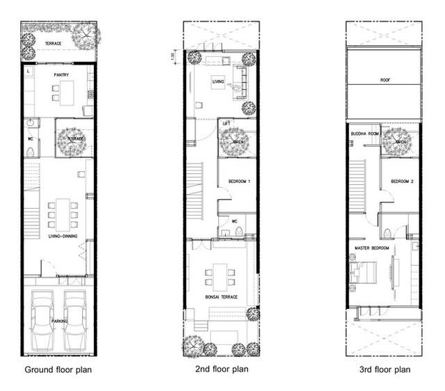 Sau 15 năm bỏ hoang, ngôi nhà 300m² được cặp vợ chồng trẻ hồi sinh cực hiện đại lại có vườn bonsai đáng mơ ước ở ban công - Ảnh 14.
