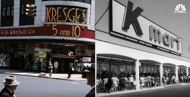 """Bài học """"thay đổi hay là chết"""" của Kmart: Từ vị thế ông hoàng siêu thị ở Hoa Kỳ đến kết cục đen tối dưới đế giày các đối thủ - Ảnh 3."""