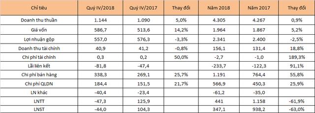 Kỳ lân VNG bất ngờ lỗ 44 tỷ quý IV/2018, có gần 5.000 tỷ lợi nhuận chưa chia - Ảnh 2.