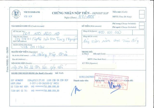 """Mẹ chồng khẳng định """"Cô góp sức nhưng tiền bạc thì không"""", bà Lê Hoàng Diệp Thảo tung chứng cứ còn giữ từ 2005 để phản bác - Ảnh 2."""
