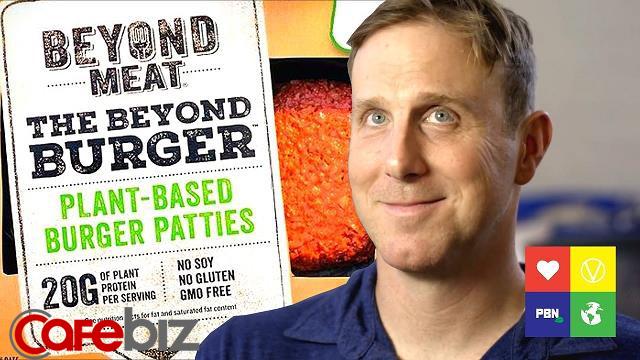 Thịt chay từ rau củ có mùi vị, dưỡng chất, rỉ máu y như thịt thật, Beyond Meat được cả Bill Gates và McDonald's đầu tư, tham vọng thay thế thịt toàn cầu - Ảnh 3.