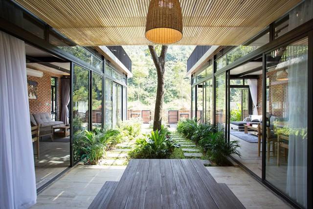 Tiền nhiều để làm gì: Muốn sống chung cả đời, hai gia đình xây biệt thự song lập ở Đà Nẵng - Ảnh 6.