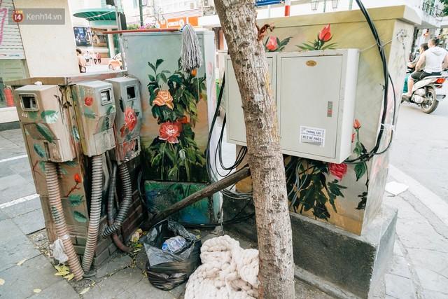Chuyện buồn về những tủ điện sắc màu ở Hà Nội bị bôi bẩn: Chúng tôi mất 4 ngày tô vẽ, những người khác chỉ mất 3 giây để làm nó lem luốc - Ảnh 7.