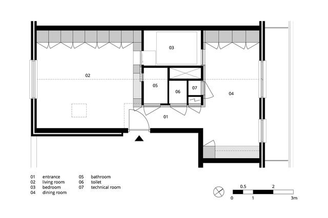 Chiếc hộp kỳ diệu trong căn hộ 56 m2 - Ảnh 10.