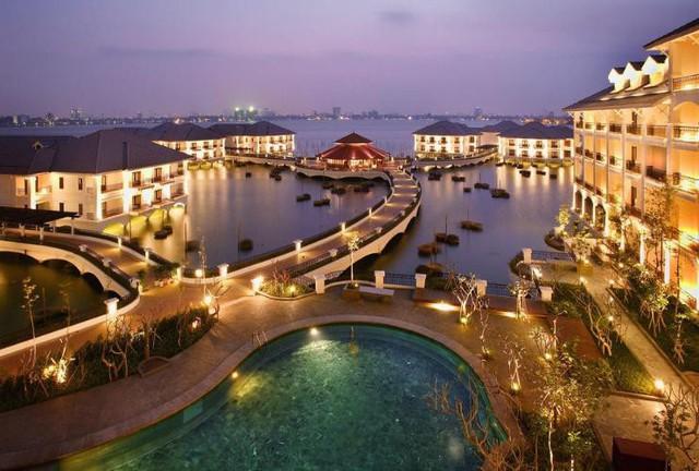 Một công ty liên quan BRG Group của nữ doanh nhân Nguyễn Thị Nga vừa chi 1.200 tỷ đồng, thâu tóm khách sạn InterContinental Hanoi Westlake - Ảnh 1.