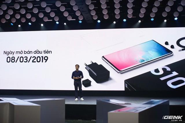 Bộ ba Galaxy S10 chính thức ra mắt ở Việt Nam: giá khởi điểm từ 16 triệu , cao nhất 34 triệu - Ảnh 5.