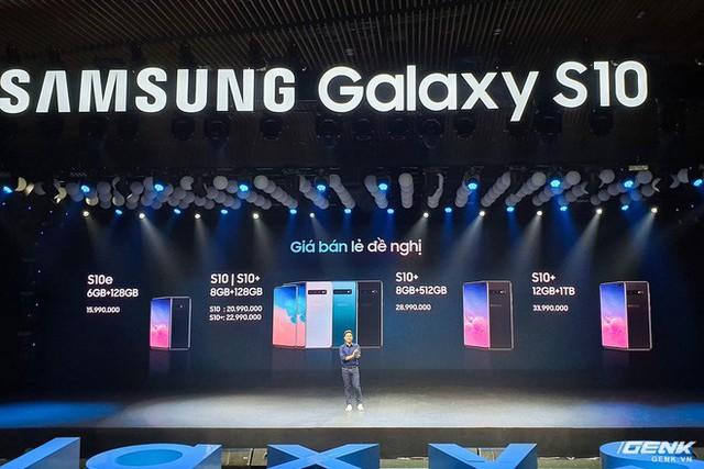 Bộ ba Galaxy S10 chính thức ra mắt ở Việt Nam: giá khởi điểm từ 16 triệu , cao nhất 34 triệu - Ảnh 3.