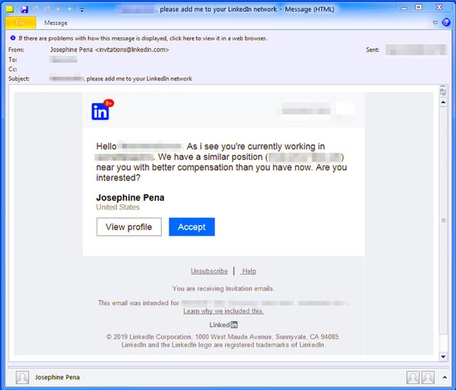 Tin tặc bắt đầu mon men lên mạng xã hội việc làm LinkedIn để cài mã độc vào máy tính của bạn - Ảnh 1.
