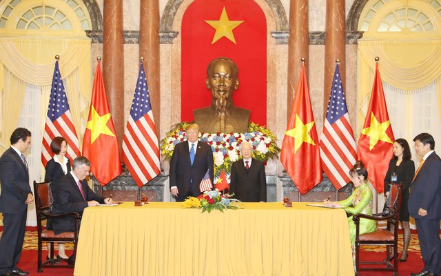 Việt Nam và Mỹ ký hợp tác kinh tế 21 tỷ USD dịp hội nghị Mỹ - Triều - Ảnh 1.