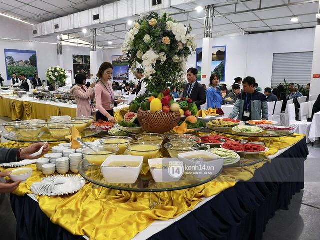 Chỉ nhìn qua vài món đãi phóng viên quốc tế thời gian Hội nghị thượng đỉnh cũng thấy ngay những địa điểm ăn uống nức tiếng Hà Nội - Ảnh 14.