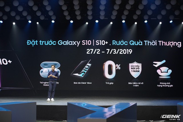 Bộ ba Galaxy S10 chính thức ra mắt ở Việt Nam: giá khởi điểm từ 16 triệu , cao nhất 34 triệu - Ảnh 6.