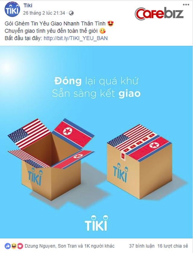 Chậm chân nhưng cao tay, doanh nghiệp của Shark Phú tung chiêu marketing nhân hội nghị Mỹ - Triều kèm lời nhắn: Chọn HẠT CƠM, đừng chọn HẠT NHÂN! - Ảnh 3.