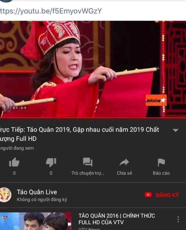 Táo quân 2019 bị vi phạm bản quyền trên YouTube và Facebook - Ảnh 3.