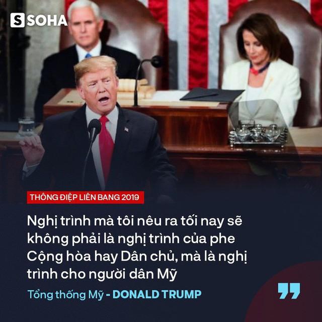 """TT Trump kêu gọi """"đoàn kết, hợp tác"""" trong TĐLB, cho biết sẽ gặp ông Kim Jong-un tại Việt Nam - Ảnh 1."""