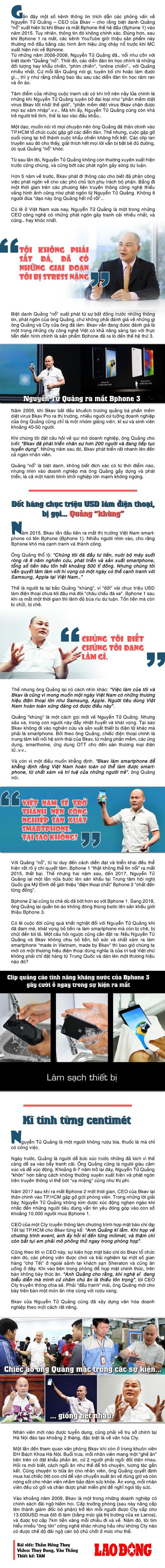 CEO Nguyễn Tử Quảng: Với tôi, tiền chỉ là hệ quả, không phải mục đích - Ảnh 1.