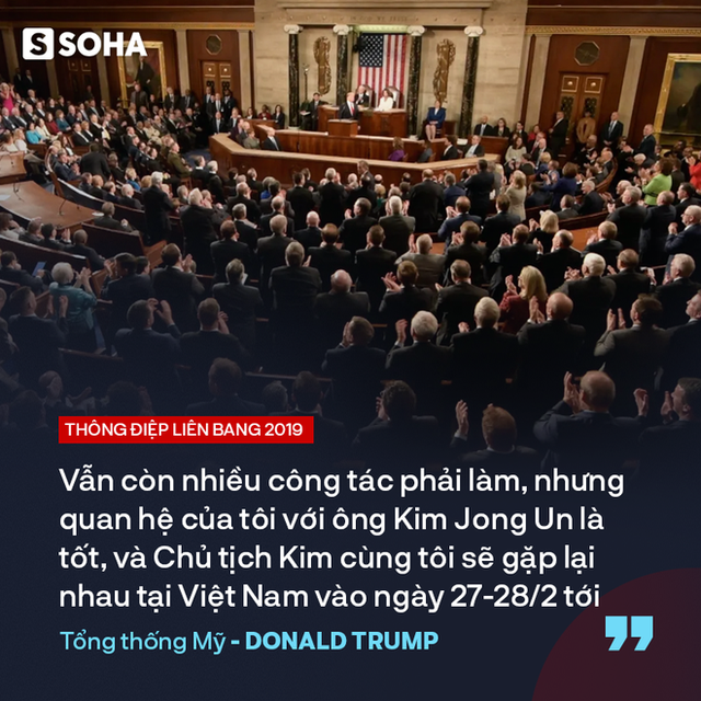 """TT Trump kêu gọi """"đoàn kết, hợp tác"""" trong TĐLB, cho biết sẽ gặp ông Kim Jong-un tại Việt Nam - Ảnh 7."""