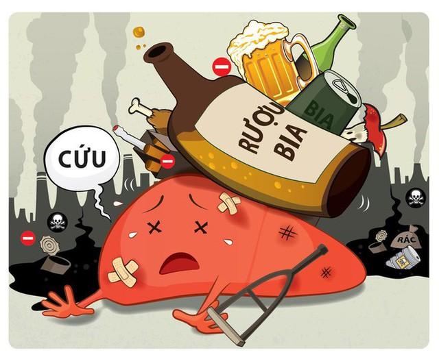 Uống nhiều bia rượu có khả năng mắc những bệnh ung thư nào? - Ảnh 1.
