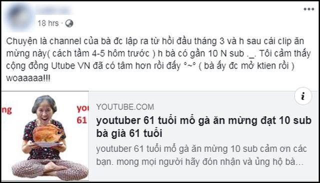 Hiện tượng YouTube Bà già 61 tuổi vẫn làm vlog ngầu như giới trẻ, 1 tuần kiếm triệu view và 45.000 sub - Ảnh 3.