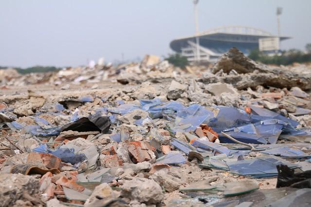 Cận cảnh khu vực chuẩn bị thành đường đua F1 ở Hà Nội - Ảnh 2.