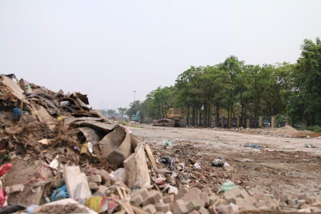 Cận cảnh khu vực chuẩn bị thành đường đua F1 ở Hà Nội - Ảnh 3.