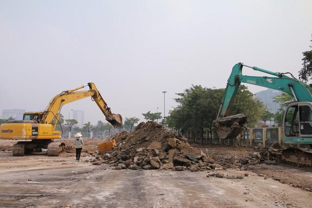 Cận cảnh khu vực chuẩn bị thành đường đua F1 ở Hà Nội - Ảnh 5.