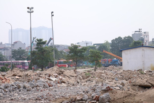 Cận cảnh khu vực chuẩn bị thành đường đua F1 ở Hà Nội - Ảnh 8.