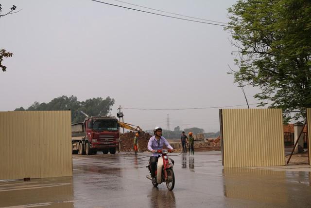 Cận cảnh khu vực chuẩn bị thành đường đua F1 ở Hà Nội - Ảnh 9.