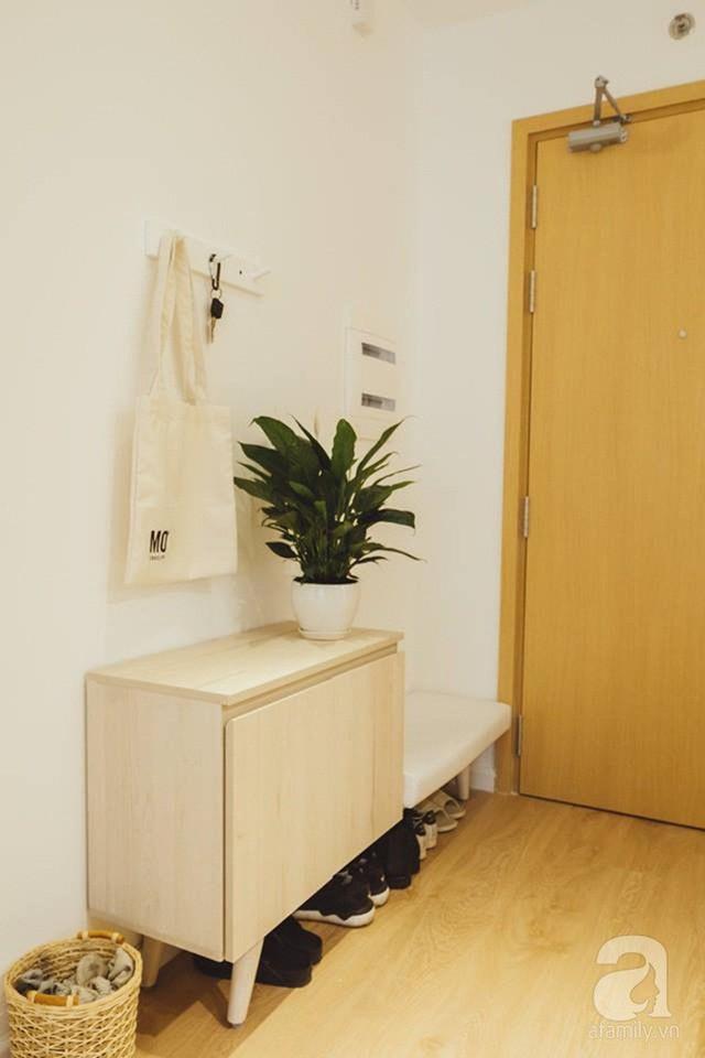 Căn hộ 63m² đẹp hút hồn nhờ thiết kế theo phong cách Nhật của chàng trai độc thân ở Sài Gòn - Ảnh 3.