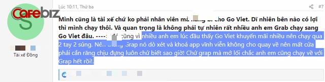 Sau 10 ngày Go-Viet thu full chiết khấu, tài xế viết tâm thư: Nếu Grab mở lối, anh em xin chạy về! - Ảnh 5.