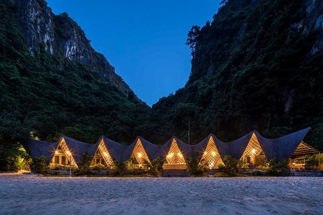 Resort bằng tre tuyệt đẹp trên vịnh Hạ Long của Hải Phòng - Ảnh 2.