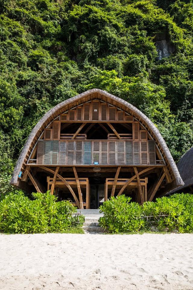 Resort bằng tre tuyệt đẹp trên vịnh Hạ Long của Hải Phòng - Ảnh 11.
