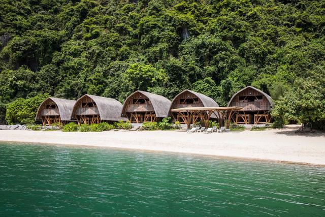 Resort bằng tre tuyệt đẹp trên vịnh Hạ Long của Hải Phòng - Ảnh 3.