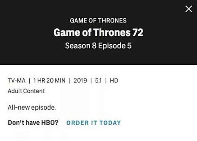 HBO hé lộ thời lượng khủng của mỗi tập Game of Thrones mùa cuối: Tập 6 dài tới 1h20 phút - Ảnh 3.