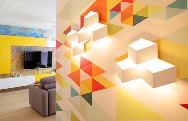 Cách sử dụng màu sắc giúp căn hộ vỏn vẹn 25m² này đẹp đến bất ngờ - Ảnh 3.