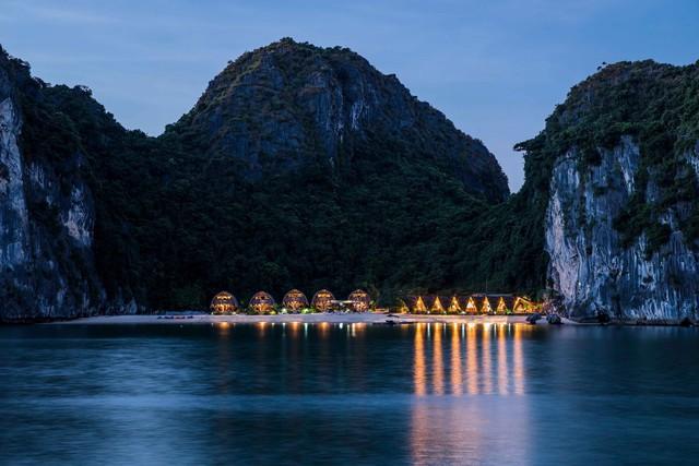 Resort bằng tre tuyệt đẹp trên vịnh Hạ Long của Hải Phòng - Ảnh 4.