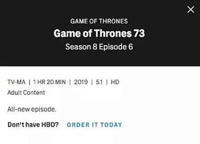 HBO hé lộ thời lượng khủng của mỗi tập Game of Thrones mùa cuối: Tập 6 dài tới 1h20 phút - Ảnh 4.