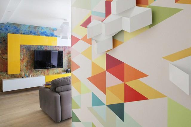 Cách sử dụng màu sắc giúp căn hộ vỏn vẹn 25m² này đẹp đến bất ngờ - Ảnh 4.