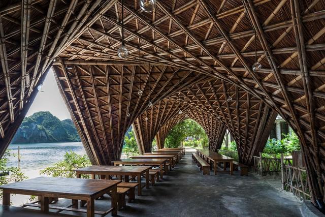 Resort bằng tre tuyệt đẹp trên vịnh Hạ Long của Hải Phòng - Ảnh 5.