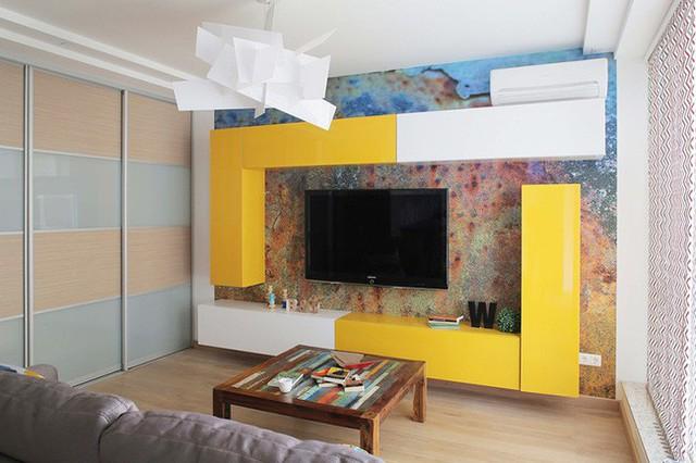 Cách sử dụng màu sắc giúp căn hộ vỏn vẹn 25m² này đẹp đến bất ngờ - Ảnh 5.