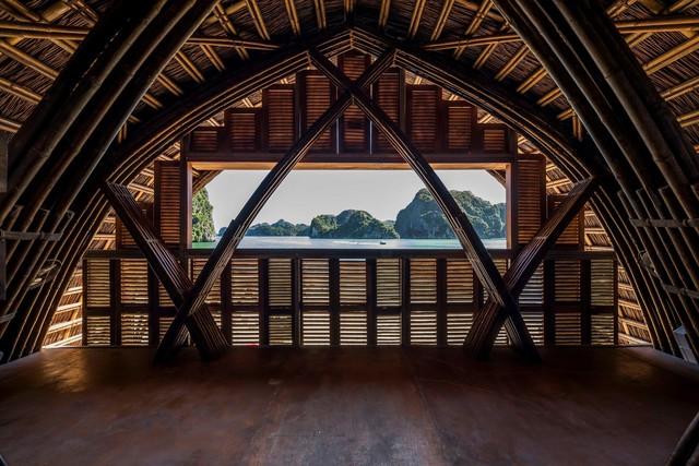 Resort bằng tre tuyệt đẹp trên vịnh Hạ Long của Hải Phòng - Ảnh 6.