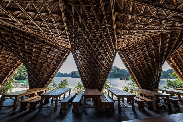 Resort bằng tre tuyệt đẹp trên vịnh Hạ Long của Hải Phòng - Ảnh 7.
