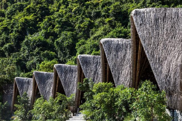 Resort bằng tre tuyệt đẹp trên vịnh Hạ Long của Hải Phòng - Ảnh 10.
